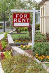 For Rent sign in yard